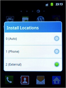 Install Location rooting